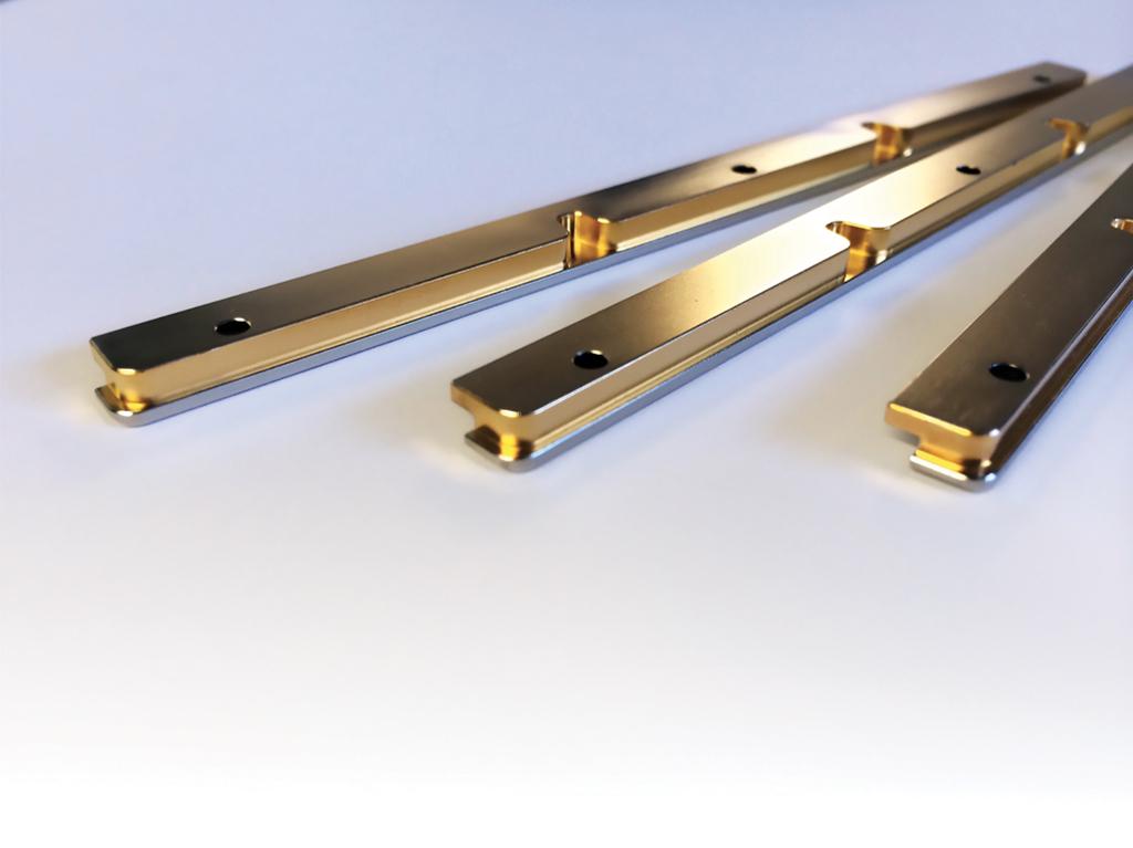 Matched CTE PCB side bars